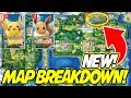 NEW KANTO MAP BREAKDOWN! Pokemon Let's Go Pikachu & Eevee Discussion!