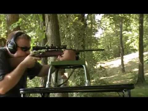 Bench Shooting Model 67 Winchester Bolt Action .22