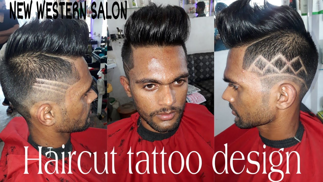 Haircut Tattoo Design For Men Best Hairstyle For Men
