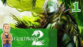 Guild Wars 2 Sylvari Gameplay Part 1 - Ranger - GW2 Let's Play Series