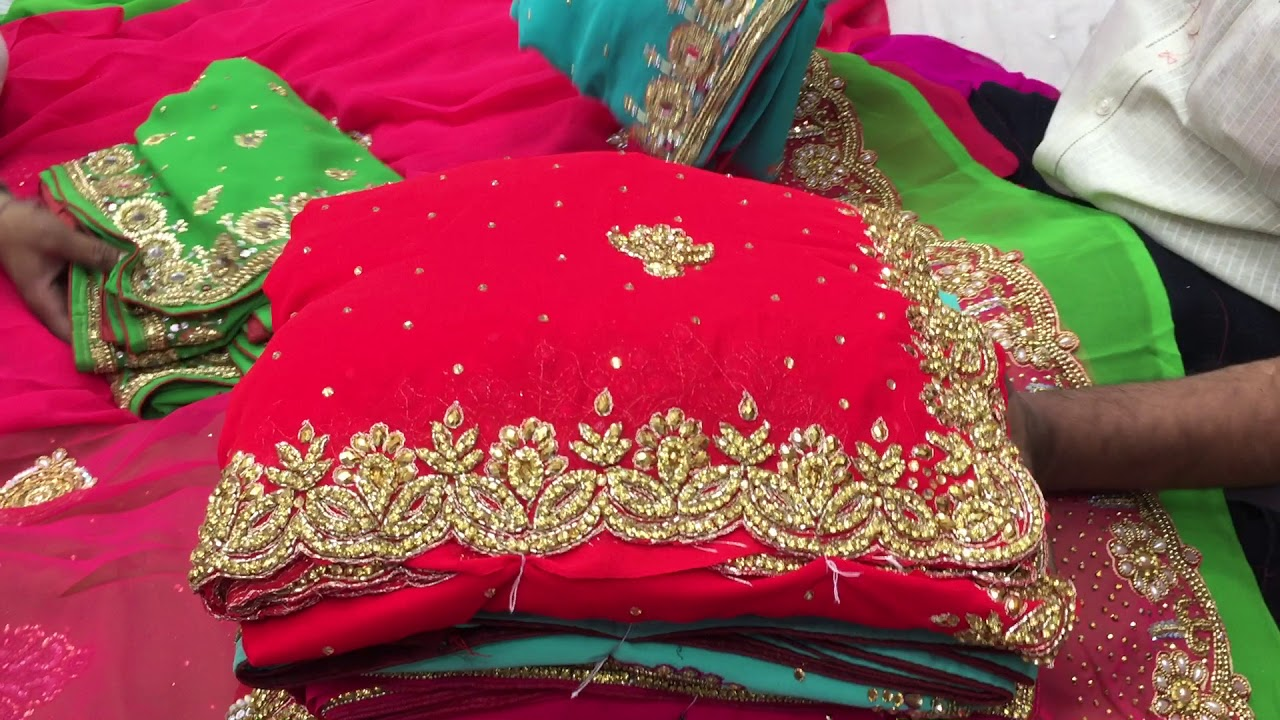 066a687c9b latest designer stone work saree for wedding and bridal function in  wholesale at cheap price