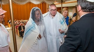 Jay and Antoinette's Black Jewish Wedding Full Video