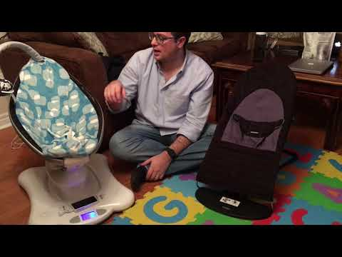 Mamaroo Vs. Baby Bjorn Infant Bouncers/Swings Comparison