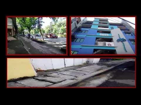 Philippines LIVE: Morning Walk Cebu City - Hotel Pillows, Bad Sidewalks, Osmena Blvd