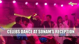 Celebs dance at Sonam Kapoor's reception