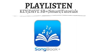 (ST) SongBook+ Playlisten