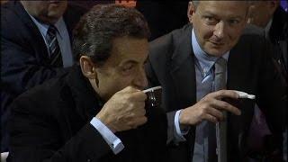 Nicolas Sarkozy de retour au salon de l