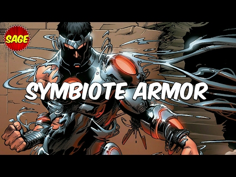 "Who is Marvel's ""Symbiote Iron Man?"" Endo-Sym Armor! Tony outdid himself."