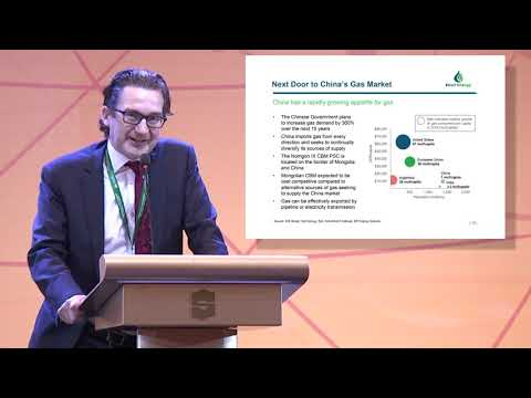 Neil Young's presentation at Discover Mongolia 2019