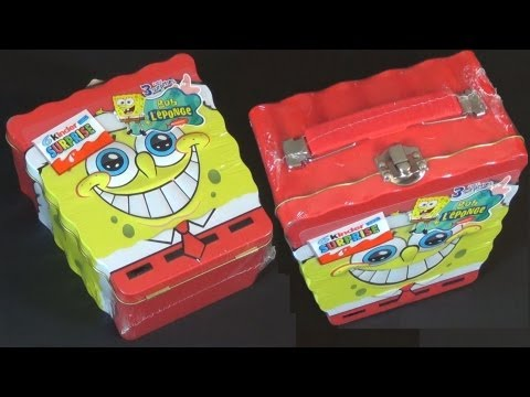 Kinder Surprise - SpongeBob (Metal Lunchbox)