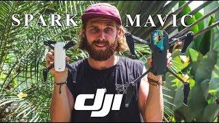 Die BESTE DROHNE DER WELT zum Reisen • Welche Drohne passt zu mir? • DJI Spark vs DJI Mavic Pro