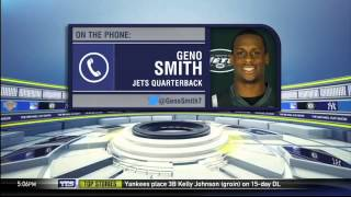 New York Jets QB Geno Smith on the opening of training camp - The Michael Kay Show