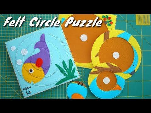 Felt Circle Puzzle I Korean Hard Felt