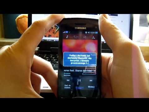 Muzyka w Samsung S8530 Wave II. samsungbada.pl