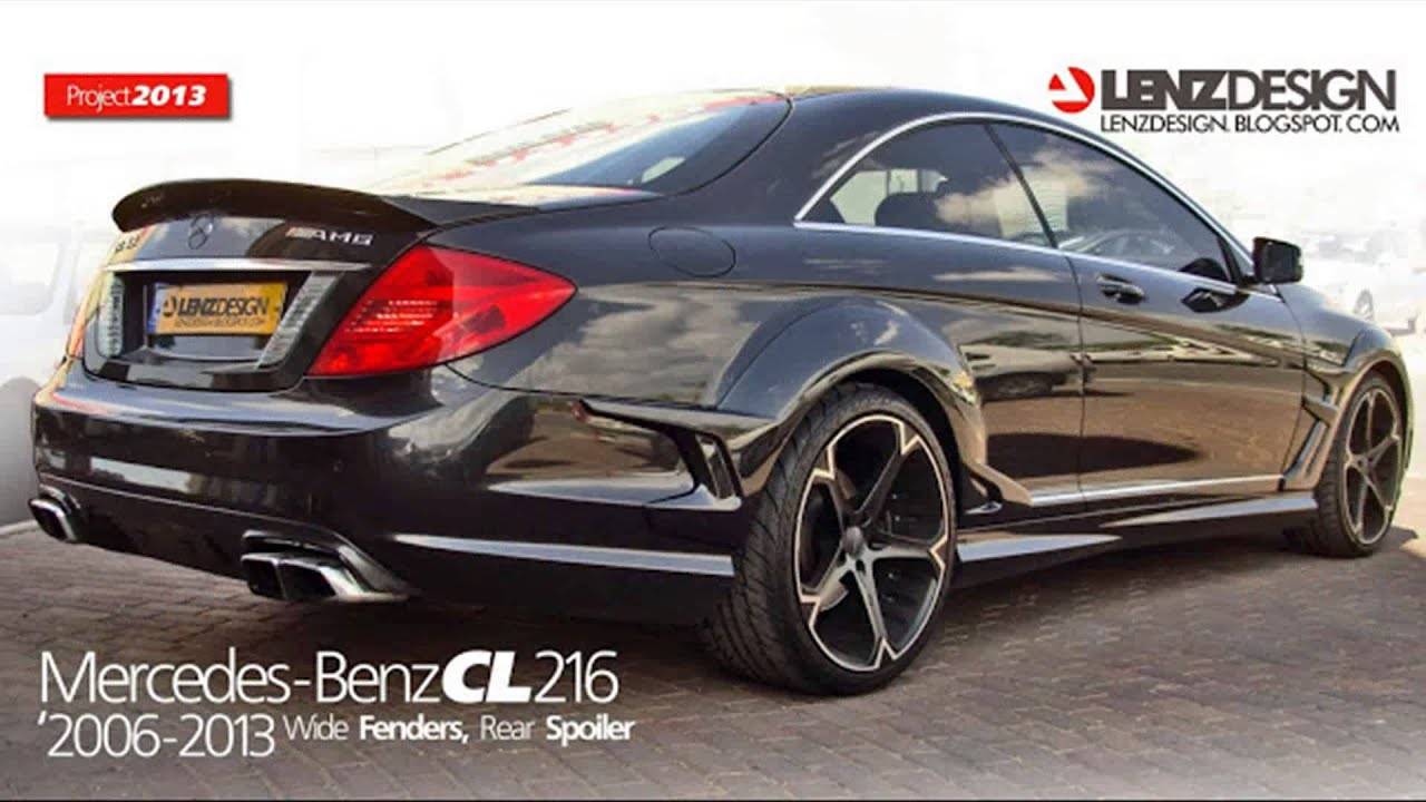 mercedes benz cl w216 tuning cars youtube. Black Bedroom Furniture Sets. Home Design Ideas