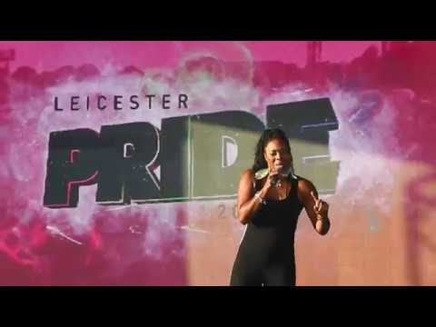 Livin' Joy Performs Don't Stop Movin' LIVE at Leicester Gay Pride - Victoria Park 01/09/18