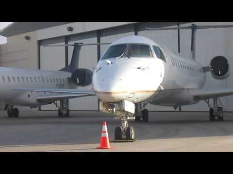 Continental Airlines in 2016 | CO/DL Embraer ERJ-145s at Phoenix-Mesa Gateway Airport