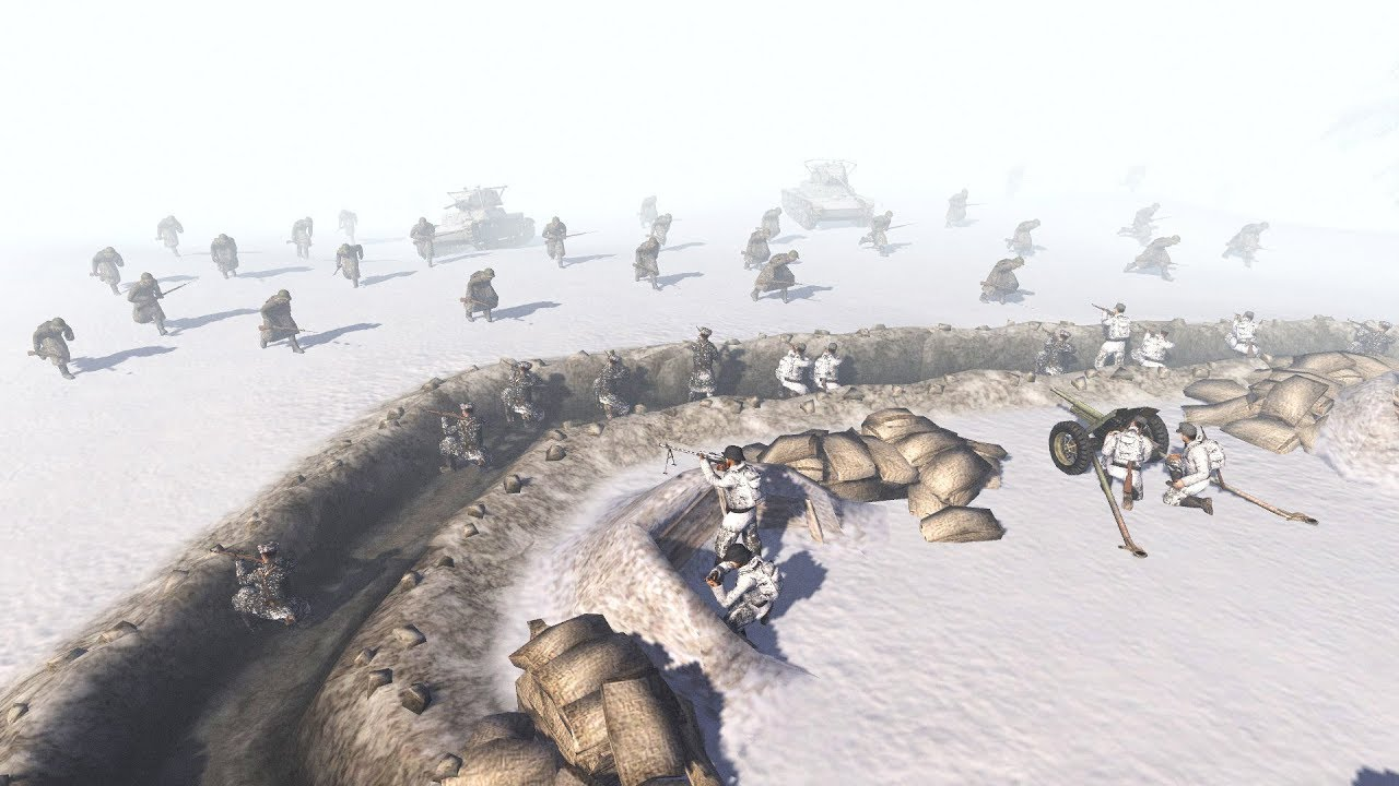 FINLAND INVADED - 1939 WINTER WAR | Men of War: Assault Squad 2 Gameplay
