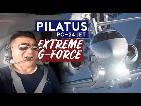 test-flight-on-pilatus-pc-24-jet.-extreme-g-force!