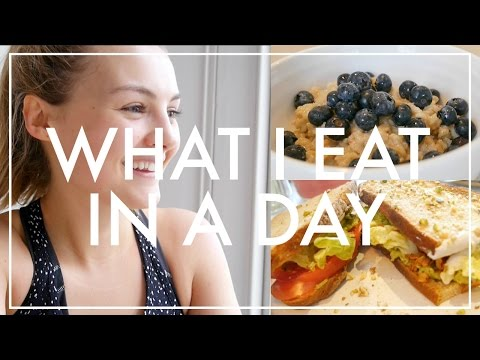 11. What I Eat In A Day | Niomi Smart