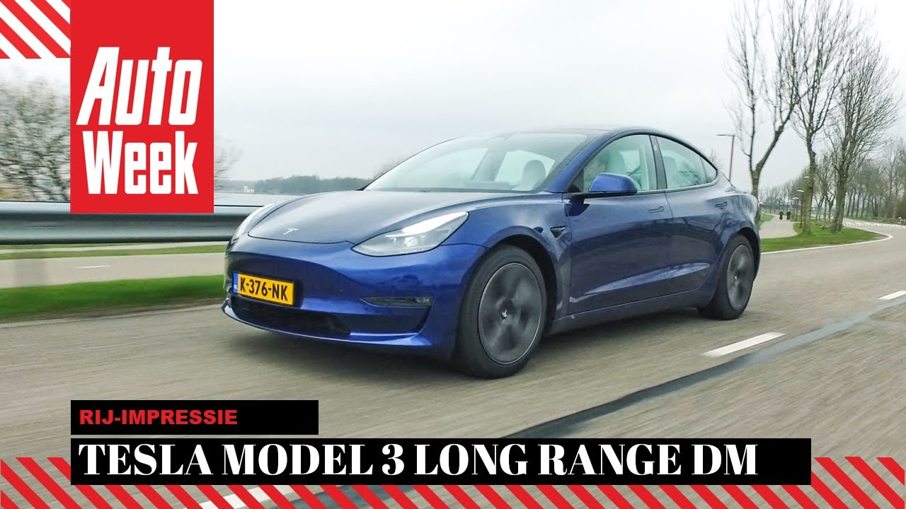 Tesla Model 3 Long Range Dual Motor (2021) - AutoWeek review - English subtitles