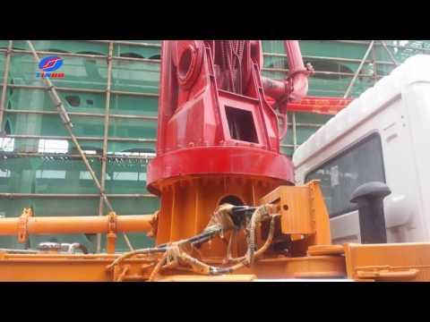Concrete pump for Floor Project