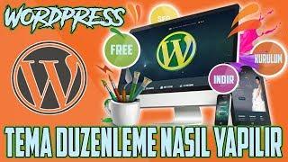 Wordpress Website Tema Düzenleme Eğitimi 2018