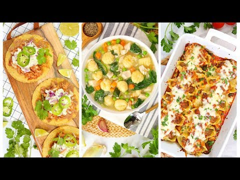 3 Time Saving Dinner Recipes Using Quick & Easy Supermarket Shortcuts