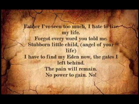 The Power Of One - Sonata Arctica - Lyrics