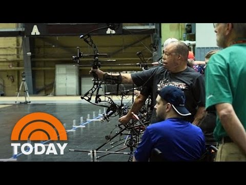 Warrior Games Highlights Benefit Of Sport For Wounded Vets   TODAY