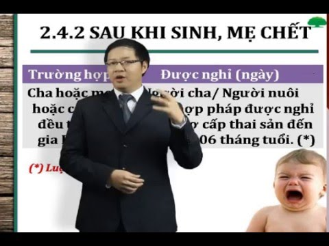 BẢO HIỂM XÃ HỘI - BẢO HIỂM THAI SẢN