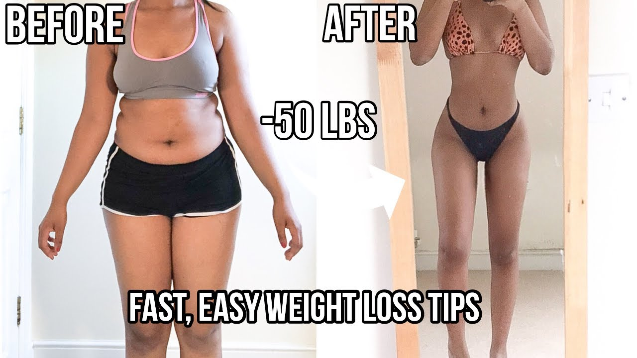 HOW I LOST 50 POUNDS IN 5 MONTHS | FAST Weight loss Tips (with pictures)