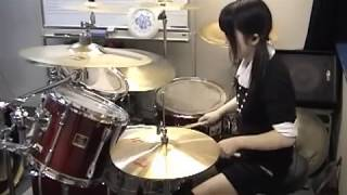 "ARCH ENEMY ""DEAD EYES SEE NO FUTURE"" Drumcover - Fumie Abe -"