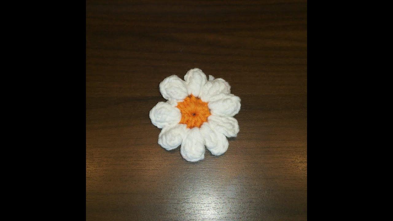 Granny Blume Für Fortgeschrittenen Kurz Beschreibung Häkeln Mit