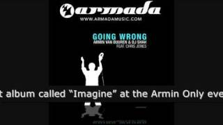 Armin van Buuren & DJ Shah Feat. Chris Jones - Going Wrong (Original Mix) (ARMD1052)