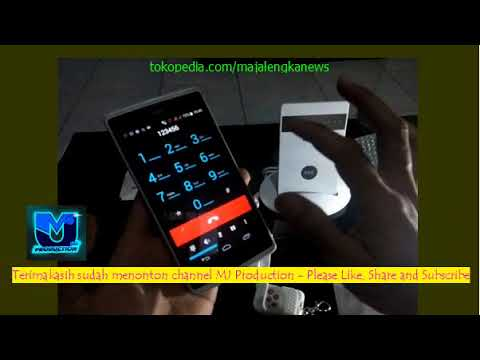 G15 GSM Alarm System #3 Remote Control by Phone Call