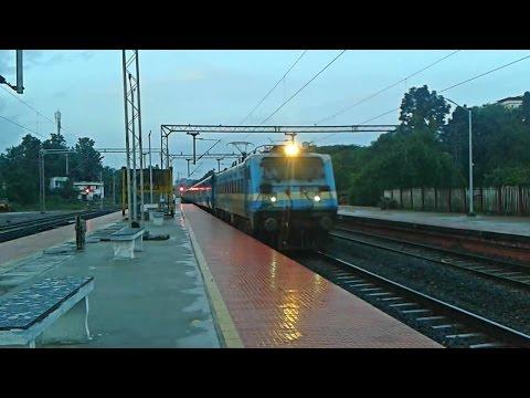 LDH WAG7 Kollam - Ernakulam Passenger twilights Tiruvalla