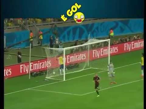 6 minutos de panico do Brasil 1 x 7 Alemanha