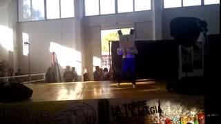 Esibizione Nissa Comics 2014   hello spank