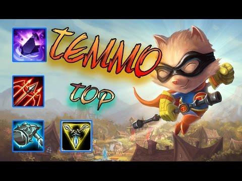 Temmo TOP | Slow Đến Chết | Thông Đạo Lầy Lội | Cách chơi và lên đồ | Liên Minh Huyền Thoại