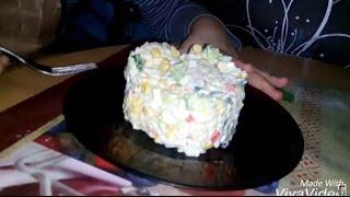 Салат из крабовых палочек | Крабовье | Рецепт
