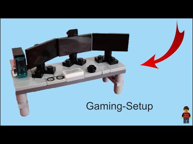 Lego-Gaming-Setup | Stop Motion