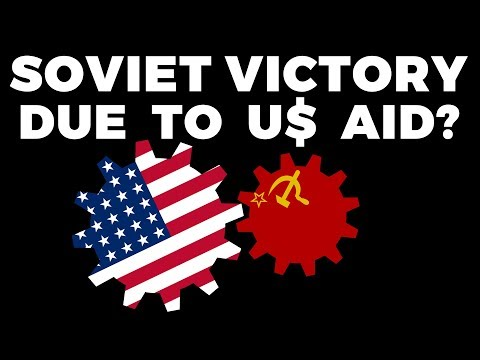 Did the Soviets win WW2 due to US Support? The Impact of Lend-Lease