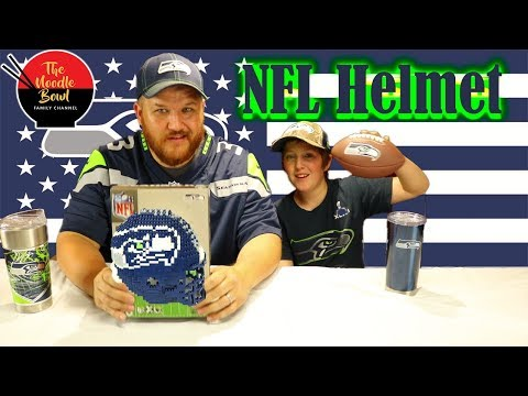 Brxlz NFL Mini Helmet, Seattle Seahawks Edition Speed Build and Review!