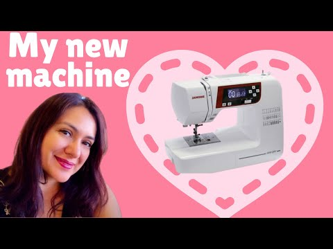 NEW Janome 2030 QDC Unboxing! Accessories And Impressions.
