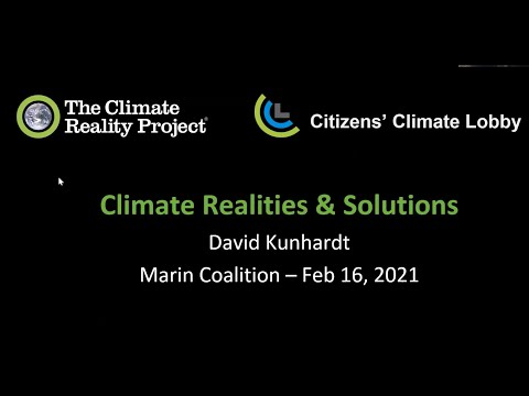 Climate Change: Realities and Solutions