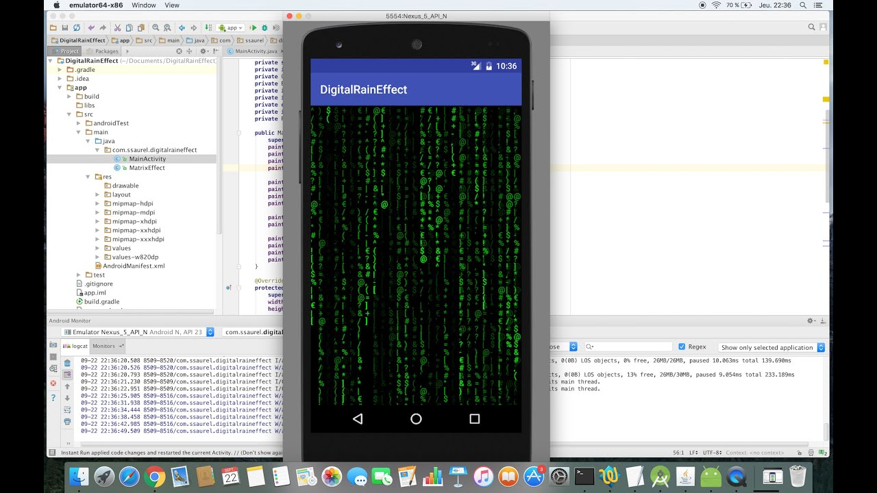 Create a Matrix Effect on Android – All for Android, Android for All