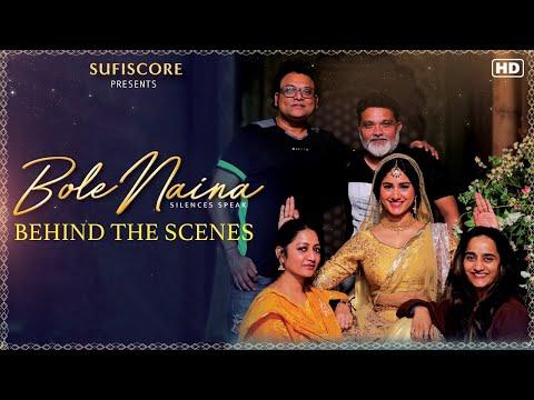 Behind the Scenes of Bole Naina |Gulzar, Zakir Hussain,Deepak Pandit,Pratibha Singh Baghel|Sufiscore