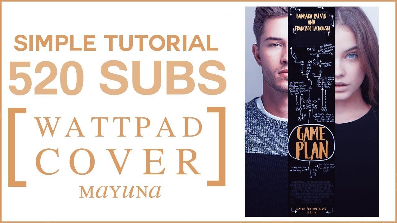 Book Cover Tutorial Wattpad : Simple wattpad cover tutorial youtube