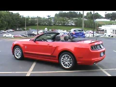 for sale 2014 mustang v6 convertible stk 40059 youtube. Black Bedroom Furniture Sets. Home Design Ideas